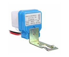 AC 220V 10A Automatic Auto On Off Street Light Switch Photo Control Sensor