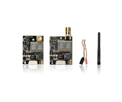 SP831 SP833 5.8G 40CH 600mW FPV Transmitter RP-SMA Straight/Right Angle Connector For RC Drone
