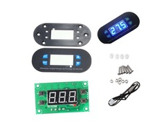 DC12V XD-W2308 Digital Thermostat Temperature Controller Adjustable Sensor Meter Blue LED