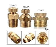 PT 1/2 3/8 1/4 Inch Brass Drain Valve Air Compressor Male Threaded Water Drain Valve