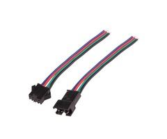 4PIN Male/Female Connector Wire Cable for RGB LED Strip Light