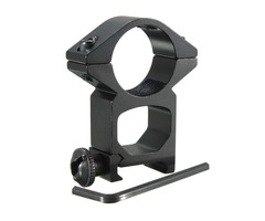 25mm High Profile Ring Scope Weaver Rail Mount 20mm Picatinny For Flashlight