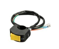 7/8Inch Universal Motorcycle Handlebar Fog Spot Headlight ON/OFF Switch