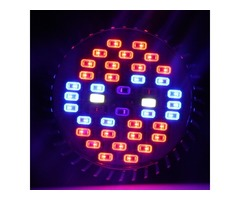 ZX 30W E27 Full Spectrum 40 LED Plant Grow Lamp Bulb Garden Greenhouse Plant Seedling Light