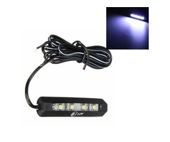 12V 0.3W Motorcycle Car 4 LEDs Tiny Rear Number Plate Light Lamp