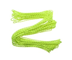 20M Green Reflective Car Luggage Rop Camping Tent Rope Guy Line Camping Cord Paracord