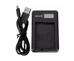 EN-EL14 Li-ion Camera Battery Dual Charger With Charging Indicator For NIKON