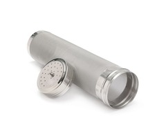 29x7CM Stainless Steel Home Brew Beer Dry Hopper Filter 300 Mesh