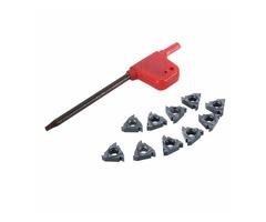 10pcs 11ER A60 Carbide Inserts External Thread Blade