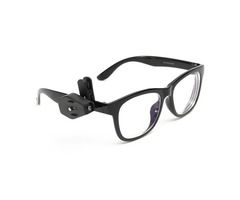 Universal Flexible Eyeglasses Mini LED Clip On Light Reading Glasses Repair Lamp