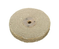 6 Inch 150x20mm Sisal Cloth Buffing Wheel Polishing Tool