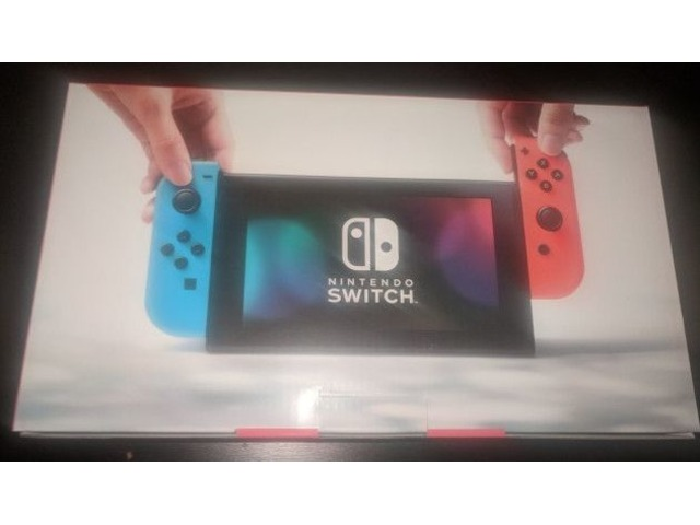 Nintendo Switch Console Neon Blue / Neon Red | FreeAds.info