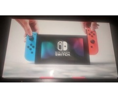 Nintendo Switch Console Neon Blue / Neon Red