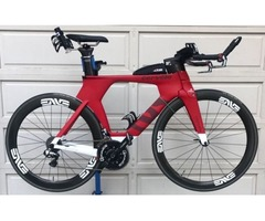 2016 Cervelo P5 Six Triathlon Bike 54cm Dura-Ace Di2, ENVE SES