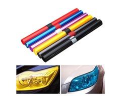 30X100cm Car Light Tint Film Sticker Decal Wrap for Headlight Fog Light Tail Light