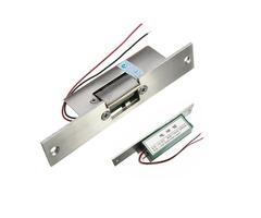 Door Electric Strike Lock  Fail Safe NO Narrow-type Electronic Control 12V DC