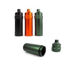Mini Waterproof Tank Seal Bottle Case Container Holder EDC Box