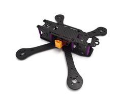 Realacc X4R X5R X6R 180mm 220mm 250mm 4mm Arm Carbon Fiber Frame Kit with BEC Output PDB   FreeAds.info