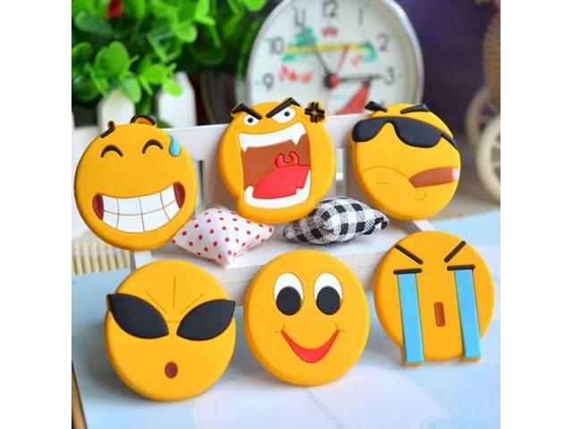 Lovely Cartoon Faces Smiling Fridge Magnet Magnetic Sticker White Board Magnet Room Decor Paste | FreeAds.info
