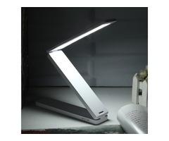 Portable Rechargeable Adjustable Foldable 16 LED Night Light Desktop Bedside Reading Lamp | FreeAds.info