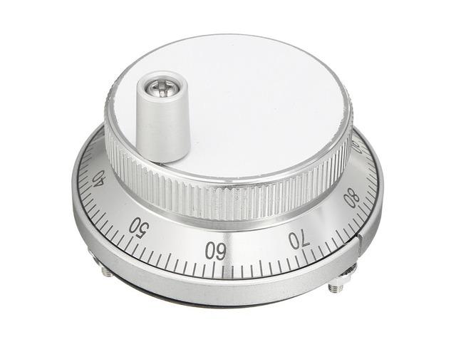 100PPR 6 Terminal Eletronic Hand Wheel Manual Pulse Encoder Generator For CNC Machine | FreeAds.info
