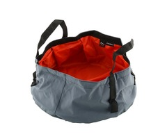 Garden Portable Foldable Water Bucket Outdoor Foldable Camping Wash Basin Sink Washing Hiking Bag