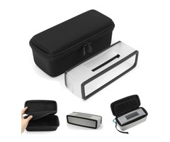 Storage EVA Speaker Bag + Speaker Silicone Case For Bose Mini