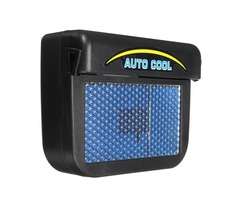 Solar Power Car Window Auto Air Vent Cool Fan Cooler Ventilation System Radiator
