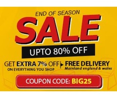 End of the season Sale: Save Up to 80% + Extra 7% off On Furniture