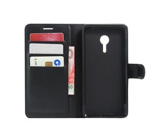 Flip Stand Wallet TPU+Leather Protective Case for Lenovo ZUK Z2 Pro