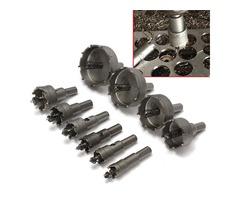 10pcs 16-53mm TCT Carbide Alloy Hole Saw Cutter Set Drill Bit