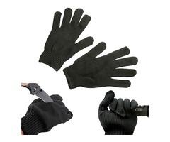 Maxcatch Durable Protective Fishing Glove Tuff-Knit Yarn Anti-cut Fishing Glove