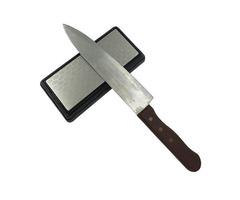 DMD 400/1000 Grit Double Side Diamond Bench Stone Knife Sharpening Stone