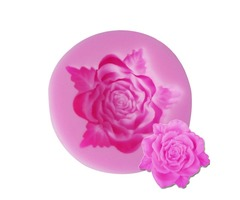Silicon Fondant Mold 3D Mini Rose Cake Silicone Mlod Decoration Chocolate Fondant Mould Mold