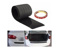 Rubber Rear Bumper Protector Trim Cover for VW Golf Passat Benz Audi BMW Mazda 91*7.8*0.3cm
