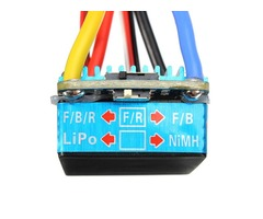 Waterproof Brushed ESC 160A 3S with 5V 1A BEC T-Plug For 1/12 RC Car