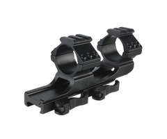 Quick Release ScopE-mount 25/30mm Cantilever Heavy Duty Rail (Flashlight Accessories