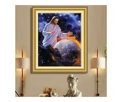 40x50cm 5D DIY Jesus Religious Culture Diamond Painting Resin Full Rhinestone Figure Cross Stitch Ki