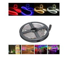 5M 30W LED Strip Flexible Light Waterproof IP65 SMD 5050 300 Leds White/Warm White/Red/Blue DC12V