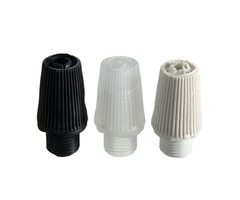 Strain Relief Piece Pendant Light Socket Cloth Wire Threaded Cord Grip