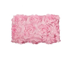 Newborn Baby 3D Rose Flower Rug Blanket Photography Props Photo Backdrop
