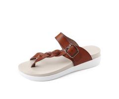 SOCOFY Beach Flat Flip Flops Sandals