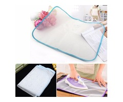 36*58CM Uniform Heating Ironing Cloth Exclusive Non-slip Anti Scald Insulating Mat Pat