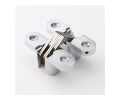 13×45mm Zinc Alloy Door Hinge Single Hole Invisible Hinge