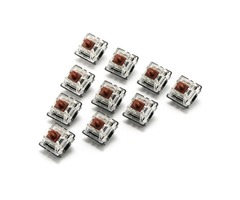 10PCS 3 Pin Mechanical Keyboard Switch Brown Switch for Gateron Keyboard Replacement