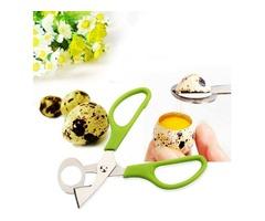 Stainless Steel Pigeon Quail Egg Scissors Egg Cutter Egg Opener Kitchen Gadget Tools