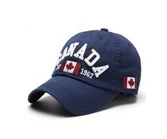 Unisex Casual Promotion Hat Canada Embroidery Baseball Cap Flag Snapback Adjuatable Hat