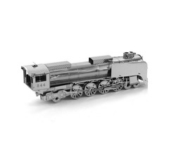Aipin DIY 3D Puzzle Stainless Steel Model Kit Train Silver Color | FreeAds.info