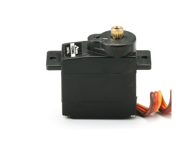 JX PDI-1109MG 9g Metal Gear Core Motor Micro Digital Servo for 450 RC Helicopter | FreeAds.info