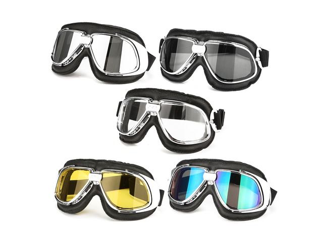 Motor Bike Motorcycle Racing Goggle Eye Protect Helmet Glasses | FreeAds.info